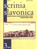 Scrinia Slavonica 3(2003)