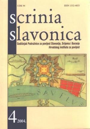 Scrinia Slavonica 4(2004)