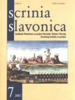 Scrinia Slavonica 7(2007)