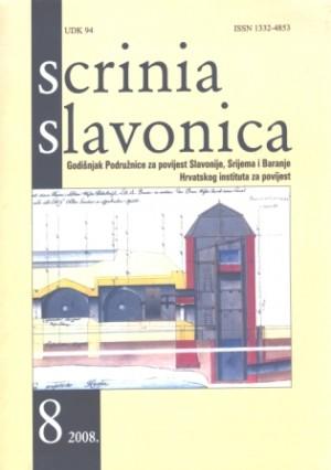 Scrinia Slavonica 8(2008)