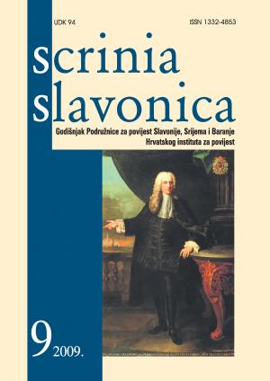 Scrinia Slavonica 9(2009)
