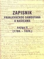Zapisnik Franjevačkog samostana u Našicama, knjiga II (1788.-1820.)